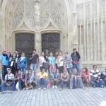 LIMOGES - 1ère S - groupe devant la cathédrale