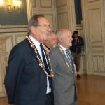 M. RODET, maire de Limoges au premier plan
