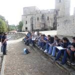 Visite d'Oradour-sur-Glane
